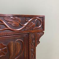 Quality Antique Oak Wainscot Chair (10 of 10)