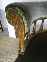 19th Century Oak Desk Chair (3 of 7)
