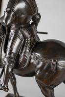 Very Large Stunning 19th Century Equestrian Bronze Sculpture of Bartolomeo Colleoni (5 of 20)