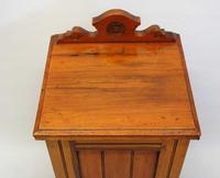 Edwardian Mahogany Bedside Cabinet (12 of 12)