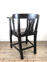 Victorian Carved Oak Gothic Armchair (M-1223) (12 of 12)
