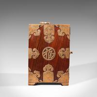 Antique Collector's Box, Chinese, Rosewood, Decorative Specimen Case c.1920 (4 of 12)