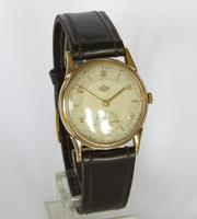 Gents 9ct gold Derrick wrist watch, 1953 (5 of 5)