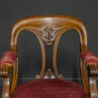 Set of Six Victorian Mahogany Chairs (6 of 13)