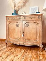 Pair of French Vintage Sideboards / Louis XV Cupboards