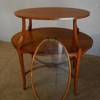 Satinwood Tray Top Table (4 of 8)