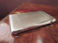 Victorian Silver Engine Turned Card Case (2 of 6)
