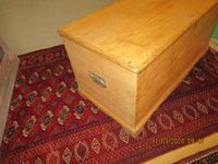 Victorian Pine Blanket Chest with Bracket Feet (4 of 5)