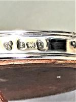 Handsome George V Round Silver Photo Frame (4 of 4)