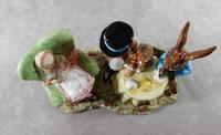 Royal Doulton, Beswick  Ware, Limited Edition, The Mad Hatter's Tea Party Tableau (10 of 12)