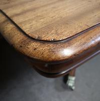 Regency Mahogany Breakfast Table / Dining Table - Seats Eight (9 of 12)