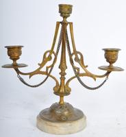 Pair of French Candelabra on Marble Bases (7 of 9)