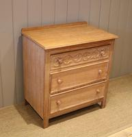 Small Limed Oak Chest of Drawers (8 of 10)