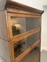 Antique Oak Stacking Lawyer's Bookcase (7 of 16)