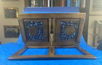 Victorian Italian Sorento Olivewood Book Stand with Micro Mosaic Inlay (7 of 23)