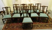 Set of 10 Mahogany Dining Chairs (7 of 8)