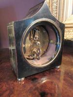 Small Antique Chinoiserie Gilt Mantel Clock (7 of 7)