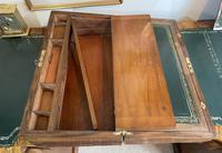 Victorian Brass-bound Walnut Writing Slope with Secret Drawers (14 of 39)