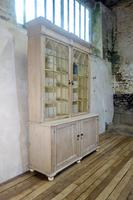 19th Century Gothic Bleached Pine Cabinet - Bookcase (12 of 15)