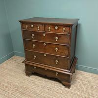 18th Century Country House Antique Chest on Stand (4 of 7)