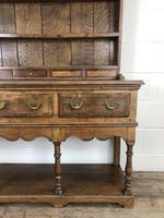 Early 20th Century Antique Oak Pot Board Welsh Dresser (4 of 18)