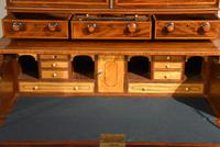 George III Sheraton Period Secretaire Cabinet (2 of 9)