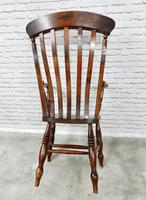 Large 'Grandfather' Windsor Lathback Armchair (3 of 6)