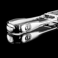 Antique Solid Silver Georgian Asparagus Tongs, Duke Sutherland Clan Crest - William Eley & William Fearn in London, 1820 (16 of 18)