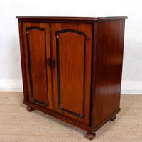 Filing Cabinet 19th Century Mahogany Birdseye Maple (8 of 10)