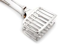 Edwardian Silver Plated Asparagus Servers with an Albany Pattern Handle (2 of 4)