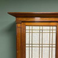 Mahogany Antique Bookcase Cupboard – Charles C Gray 1848 (9 of 9)