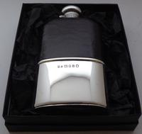 Mappin & Webb 1935 Solid Hallmarked Silver Hip Flask Half 1/2 Pint (13 of 13)