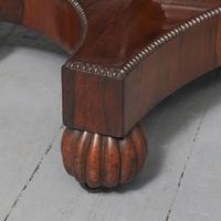 Antique William IV Rosewood Fold Over Tea Table (4 of 10)