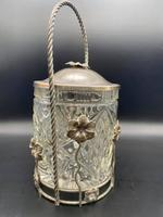 Edwardian Biscuit Barrel (2 of 7)