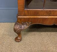 Burr Walnut Glazed Bookcase (2 of 14)