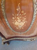 Louis XVI Style French Marble Top Cabinet (2 of 8)