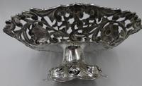 Antique Victorian Silver Basket London 1887 (6 of 6)