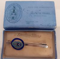 Silver Freemasons Brooch, Hallmarked  Chester 1938