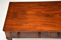 Antique William IV  Mahogany Writing Table (9 of 9)