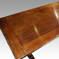 Edwardian Oak Refectory Table (9 of 10)