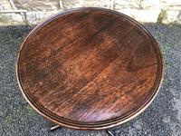 Antique Mahogany Tripod Wine Table (5 of 5)