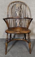 Titchmarsh & Goodwin Oak Windsor Chair