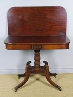 Elegant Regency Mahogany Side / Tea Table (2 of 7)