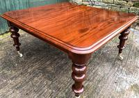 Very Large Victorian Mahogany Extending Dining Table (11 of 16)
