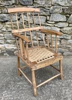 Antique Primitive Westcountry Stick Back Windsor Chair (3 of 18)