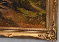 Oil Painting 'The Lledr Valley' by Frank T. Carter (7 of 9)