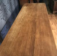 Large Victorian Pine Farmhouse Table (9 of 15)