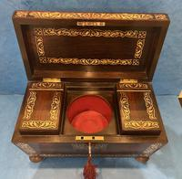 Regency Rosewood Twin Canister Tea Caddy (13 of 23)
