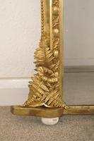 Gilt Overmantle Mirror with 'Fern' Decoration (4 of 9)
