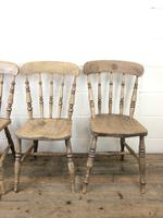 Set of Four Antique Kitchen Chairs (4 of 11)